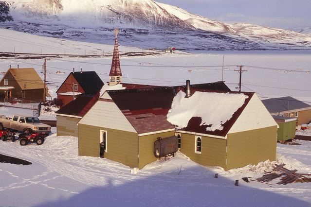Church in Arctic Bay